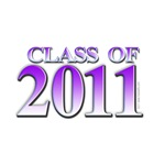 Class of 2011 Purple T-shirts and gifts