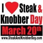 I Love Steak and Knobber Day