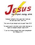 Jesus Energy Drink- light