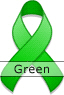 Green Ribbon for Mental Health Awareness