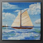 Sailing on  the Monterey Bay