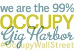 Occupy Gig Harbor T-Shirts