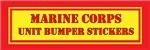 USMC Unit Bumper Stickers