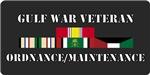 Army Ordnance/Maintenance Gulf War Veteran