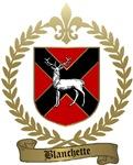 BLANCHETTE Family Crest