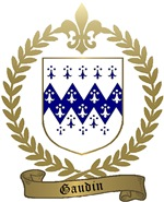 GAUDIN Family Crest