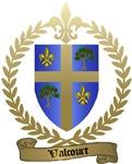 VALCOURT Family Crest