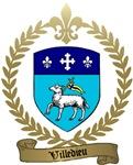 VILLEDIEU Family Crest