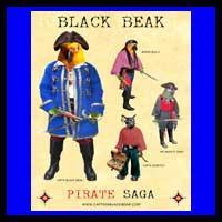 Black Beak Saga Posters