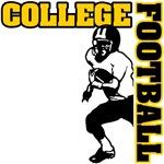 College Football (GoldBlack)