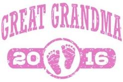 Great Grandma 2016 t-shirt