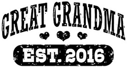 Great Grandma Est. 2016 t-shirt