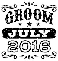 Groom July 2016 t-shirt