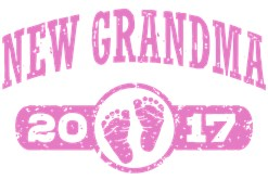 New Grandma 2017 t-shirt