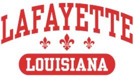 Lafayette Louisiana t-shirts