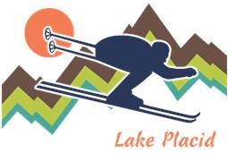 Ski Lake Placid t-shirts