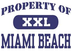 Property of Miami Beach t-shirt