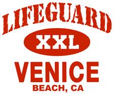 Lifeguard Venice Beach t-shirts