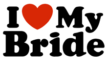 I Love My Bride t-shirt