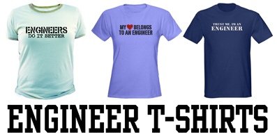 Engineer t-shirts and gifts