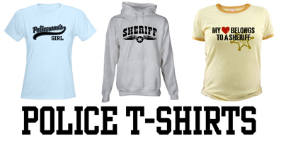 Police t-shirts and gifts