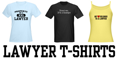 Lawyer t-shirts and gifts