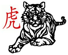 Chinese Tiger t-shirts