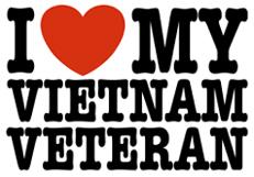 I Love My Vietnam Veteran t-shirts