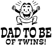 Dad To Be Twins