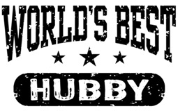 World's Best Hubby t-shirts