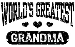 World's Greatest Grandma t-shirts