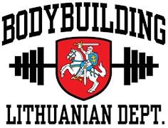 Lithuanian Bodybuilder t-shirt