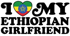 I Love My Ethiopian Girlfriend t-sh