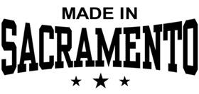 Made In Sacramento  t-shirts