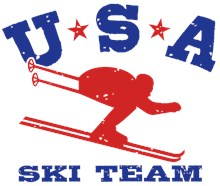 USA Ski Team t-shirts