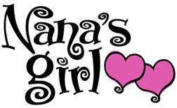 Nana's Girl t-shirts