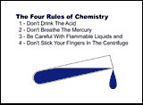 The 4 Rules Of Chemistry
