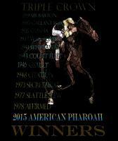 Triple Crown Winners 2015 American Pharoah