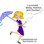 I Survived Betsy, Katrina, Gustav, New Orleans, LA