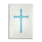 Christian Cross Buttons, Magnets & Stickers!