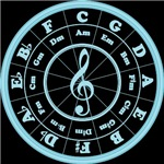 Blue Circle of Fifths