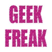 Geek Freak Pink