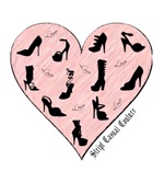 Pink Shoe Heart