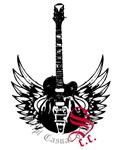Black Winged Guitar