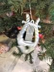 Christmas Tree Kitten
