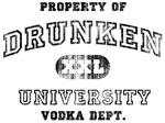 'Vintage' Drunken University. Vodka Dept.