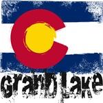 Grand Lake Grunge Flag
