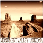 Monument Valley Old Photo Design