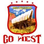 US WEST - Go West Pioneers