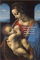 Love and Truth: Leonardo Da Vinci Woman and Child